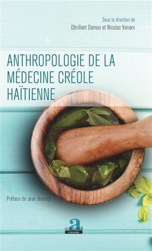 Anthropologie de la médecine créole haïtienne - academia - 9782806104403