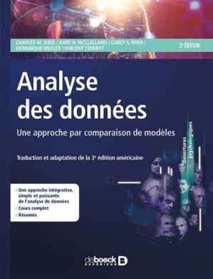 Analyse des données : une approche par comparaison de modèles - de boeck superieur - 9782807305540 -
