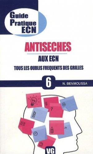 Antisèches aux ECN - vernazobres grego - 9782818301951 -
