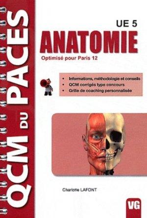 Anatomie (Paris 12) - vernazobres grego - 9782818304006 -