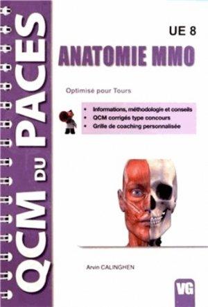 Anatomie MMO  UE8 (Tours) - vernazobres grego - 9782818306727 -