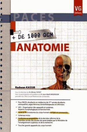 Anatomie - vernazobres grego - 9782818307328