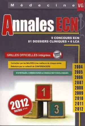 Annales ECN2004 - 2005 - 2006 - 2007 - 2008 - 2009 - 2010 - 2011- 2012 - vernazobres grego - 9782818308592 -