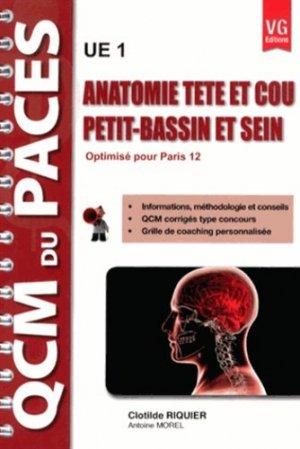 Anatomie tête et cou - Petit-bassin et sein ( Paris 12 ) U1 - vernazobres grego - 9782818308967