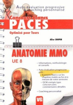 Anatomie MMO UE8 - vernazobres grego - 9782818309612 -