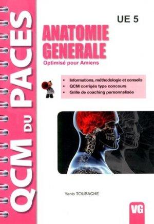 Anatomie générale Optimisé pour Amiens - vernazobres grego - 9782818309797 -
