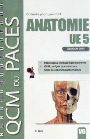 Anatomie UE5 ( Lyon EST) - vernazobres grego - 9782818312353 -
