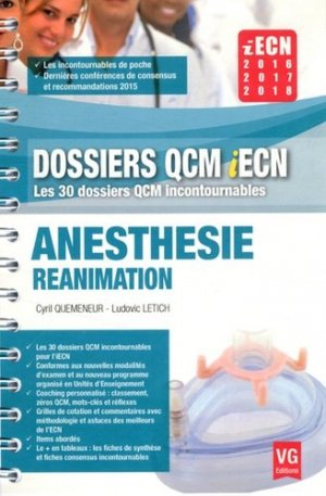 Anesthesie réanimation - vernazobres grego - 9782818313732 -