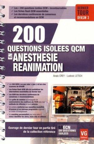 Anesthésie réanimation - vernazobres grego - 9782818313817 -