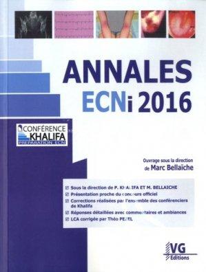 Annales ECNi 2016 - vernazobres grego - 9782818316122 -