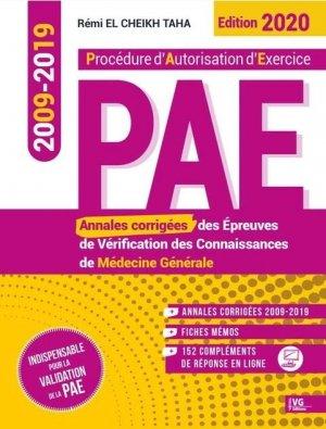Annales de médecine générale 2009-2019 PAE - vernazobres grego - 9782818317907 -