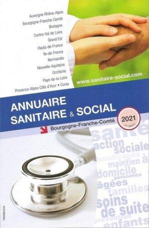Annuaire sanitaire et social Bourgogne Franche-Comté - Office National de Publication et de Communication - 9782840072225 -