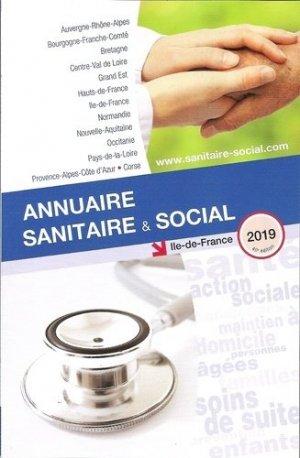 Annuaire sanitaire et social Ile-de-France 2019 - onpc - 9782840072706 -