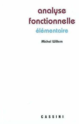 Analyse fonctionnelle élémentaire - cassini - 9782842250669 -