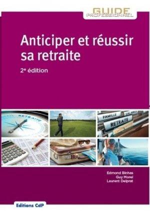 Anticiper et réussir sa retraite-cdp-9782843613180