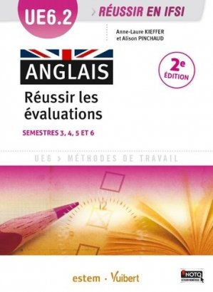 Anglais Réussir les évaluations  UE 6.2 - estem - 9782843718311
