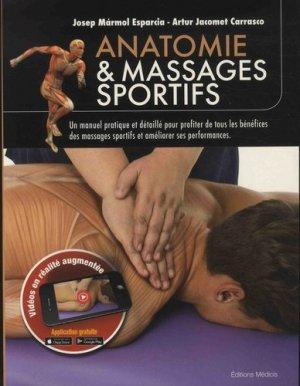 Anatomie et massages sportifs - medicis - 9782853276559 -