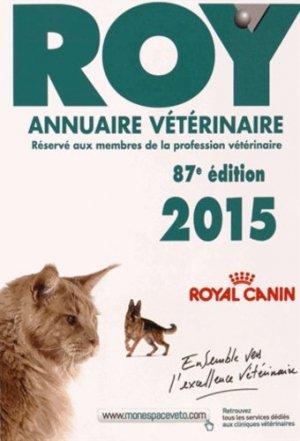 Annuaire vétérinaire ROY 2015 - du point veterinaire - 9782863263501 -