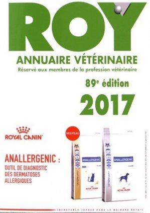 Annuaire vétérinaire Roy 2017 - du point veterinaire - 9782863263709 -