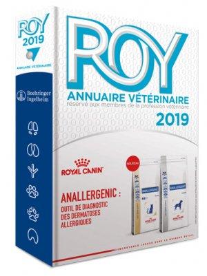 Annuaire vétérinaire Roy - du point veterinaire - 9782863263815 -