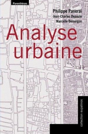 Analyse urbaine - parentheses - 9782863646038 -