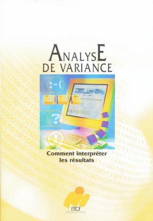Analyse de variance - itcf - 9782864925422 -