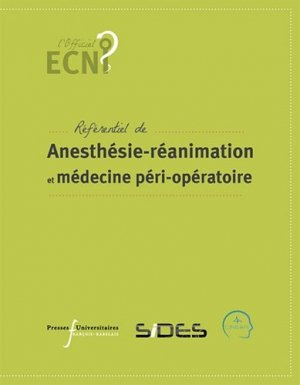 Anesthésie-réanimation et médecine péri-opératoire - presses universitaires francois rabelais - 9782869066557 -