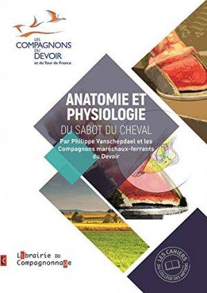 Anatomie et physiologie du sabot du cheval - compagnonnage - 9782901362906 -