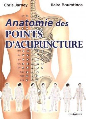 Anatomie des points d'acupuncture - de l'eveil - 9782912795687 -
