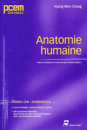 Anatomie humaine - pradel - 9782913996373 -