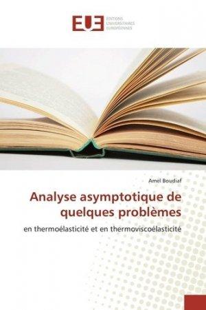 Analyse asymptotique de quelques problèmes - universitaires europeennes - 9783639809282 -