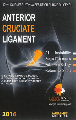 Anterior cruciate ligament-sauramps medical-9791030300765