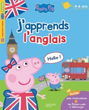 J'apprends l'anglais 4-6 ans - Hachette - 9782017014577 -