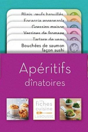 Apéritifs dînatoires - Larousse - 9782035859419 -