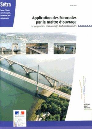 Application des Eurocodes par le maître d'ouvrage - La Documentation Française - 9782110958280 -