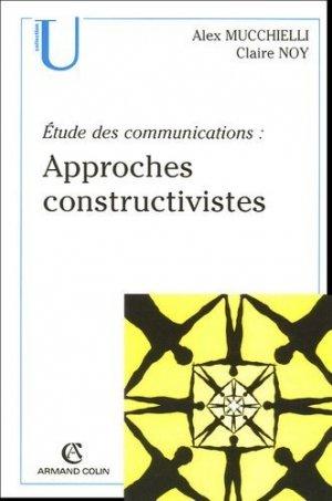 Approches constructivistes - Armand Colin - 9782200268459 -