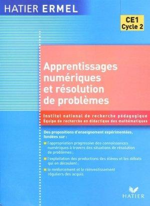 Apprentissages numériques et résolution de problèmes CE1 - Hatier - 9782218920349 -