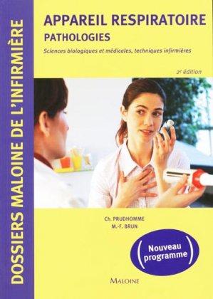 Appareil Respiratoire pathologies - maloine - 9782224032074 -