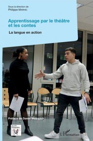 Apprentissage par le théâtre et les contes - l'harmattan - 9782343154480 -