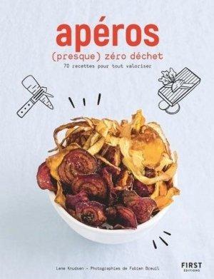 Apéros zéro déchet - First - 9782412056134 -