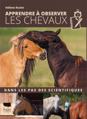 Apprendre à observer les chevaux - delachaux et niestlé - 9782603026632 -