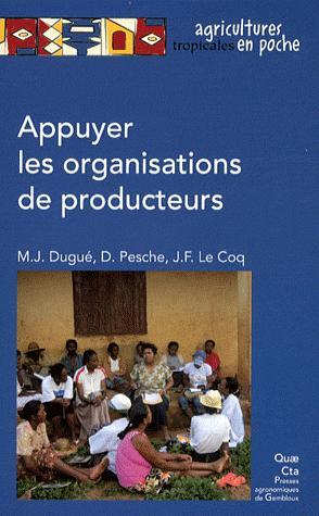 Appuyer les organisations de producteurs - quae  - 9782759218059 -