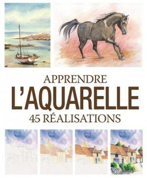 Apprendre l'aquarelle - Editions ESI - 9782822605144 -