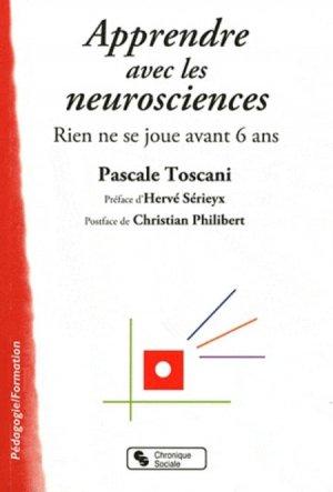 Apprendre avec les neurosciences - chronique sociale - 9782850089466 -