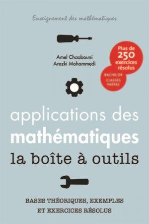 Applications des mathématiques la boîte à outils - ppur - 9782889151738 -