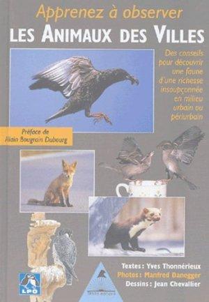 Apprenez à observer les animaux des villes - tetras - 9782915031256 -