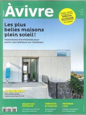 Architectures à vivre Hors-série N° 43, juin/juillet/août 2019 - Architectures à vivre - 3663322104411 -