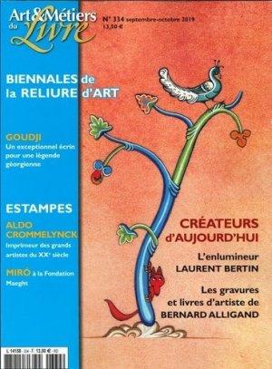 Art et métiers du livre N° 334, septembre 2019 - Faton - 3663322106941 -