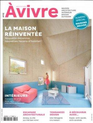 Architectures à vivre N° 112, mars-avril 2020 - Architectures à vivre - 3663322108723 -