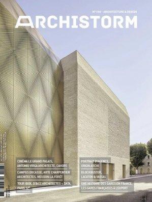 Archistorm n°108, mai 2021 - archistorm - 3663322114694 -